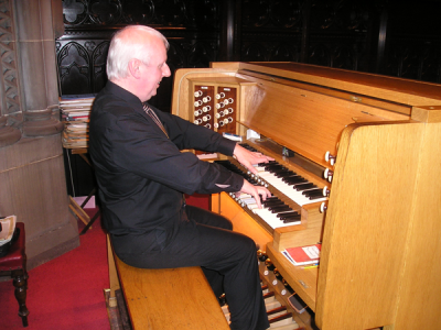 Stuart Montgomery Recital on Organ
