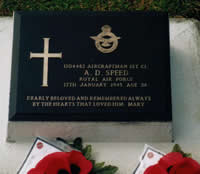 Grave of Andrew Speed in Labuan Cemetery