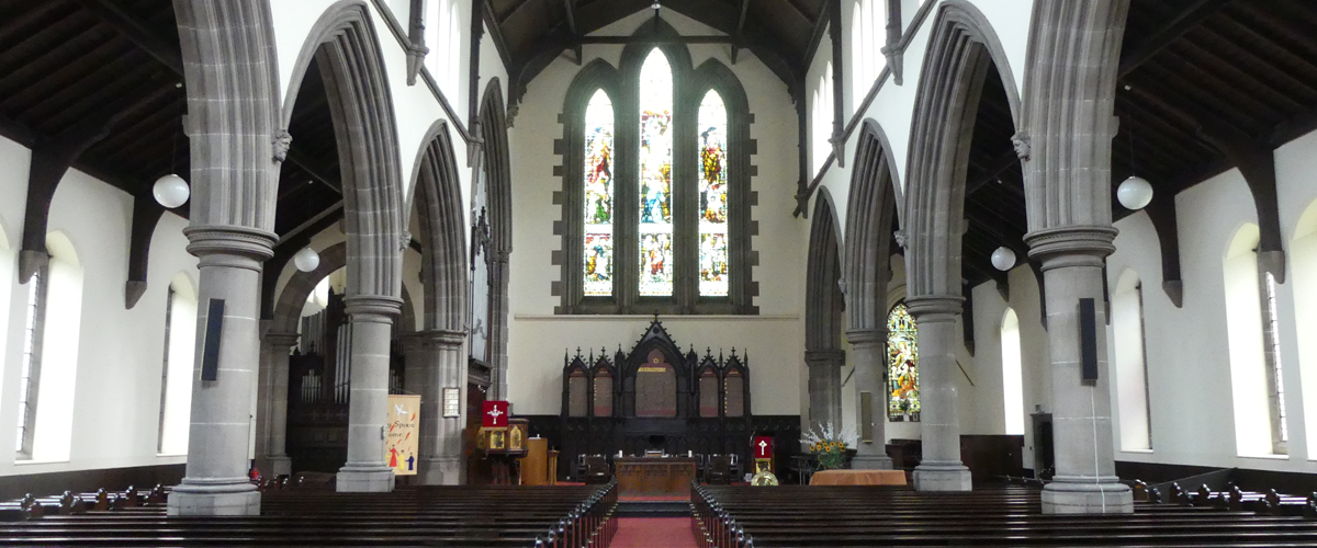 Inside St Michael's Church