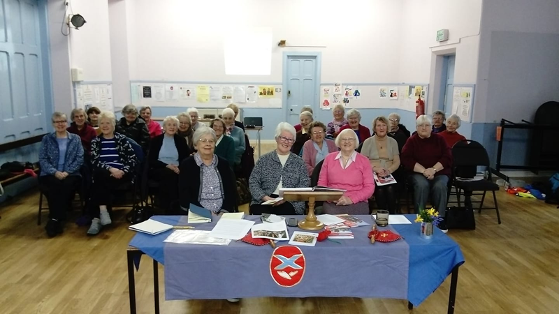 St Michael's Church Fellowship Guild Members